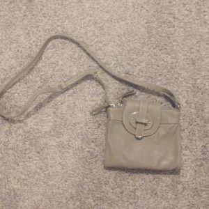 Nine West gray crossbody purse